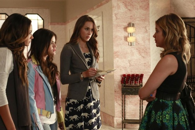 Pretty Little Liars Return Scene