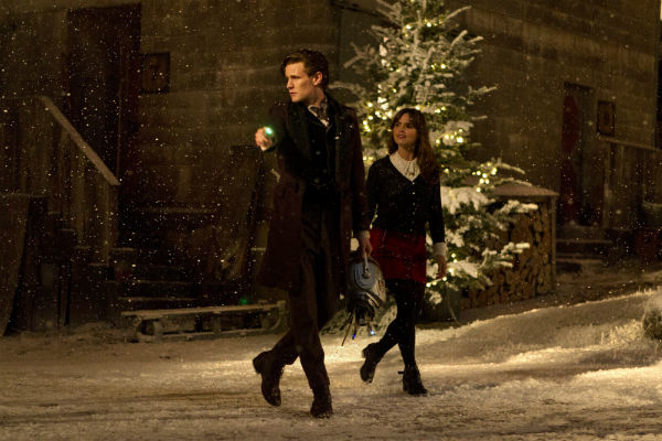 Doctor And Clara Walk