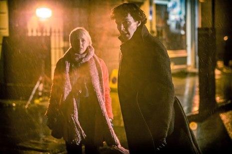 Sherlock Season Premiere Scene