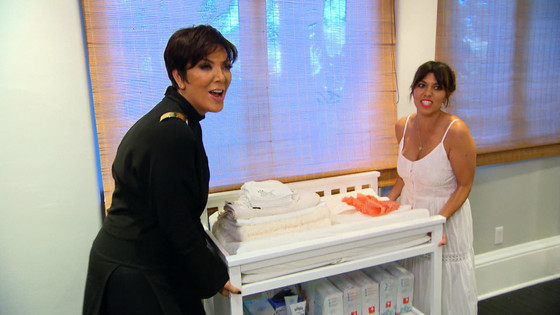 Kris and Kourtney
