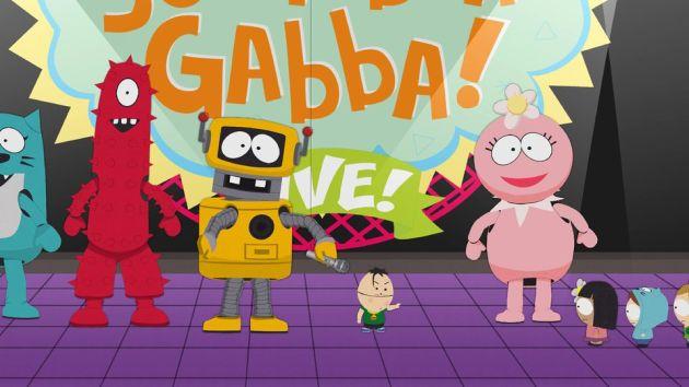 South Park Meets Yo Gabba Gabba