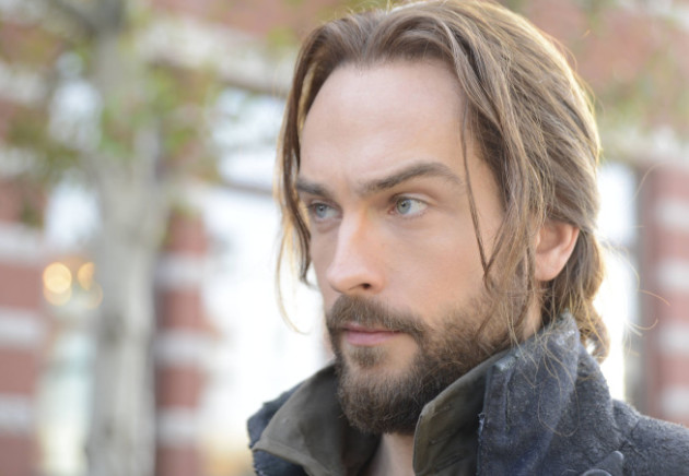 Ichabod Crane on Sleepy Hollow