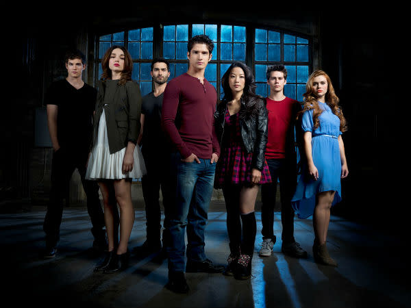 Teen Wolf Season 3B cast