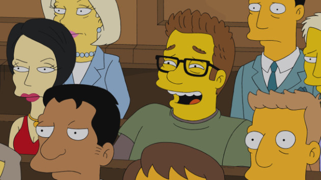 Seth Rogen on The Simpsons