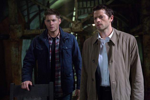 Dean and Castiel Pic