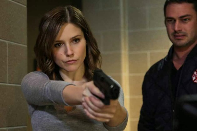 Sophia Bush on Chicago Fire