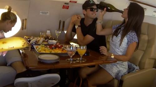 Rich Kids on a Plane