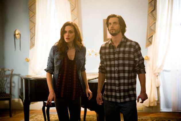 Nathan Parsons on The Originals