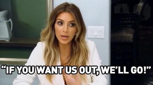 An Irritated Kim