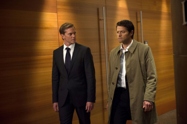 Castiel and Bartholomew Walking