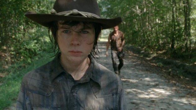 Carl Walks the Road
