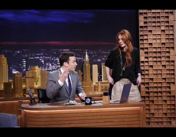 Lindsay Lohan on The Tonight Show