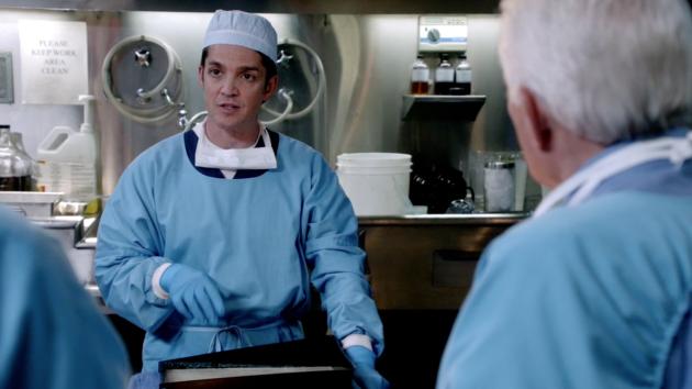 Jonathan del Arco as Dr. Morales on Major Crimes