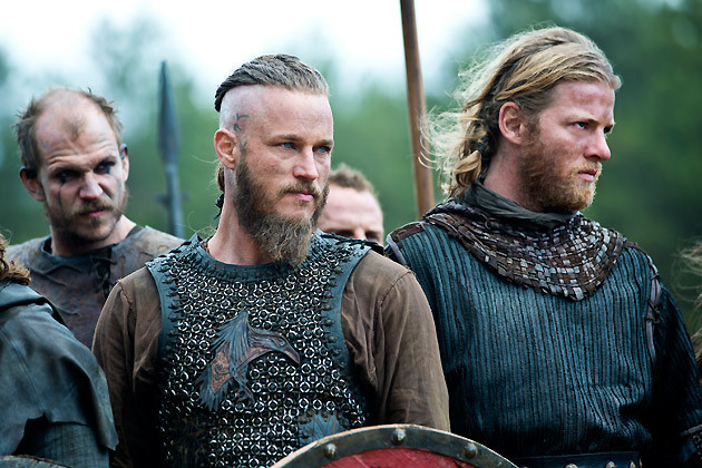 Ragnar and Floki are Ready for Battle