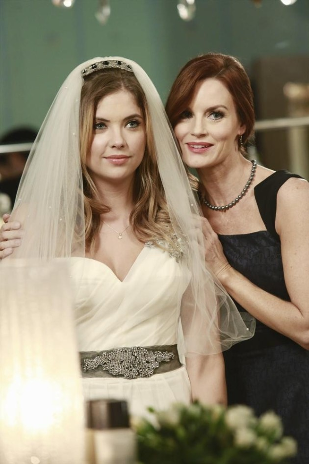 Ashley Imagines Hanna Walking Down the Aisle