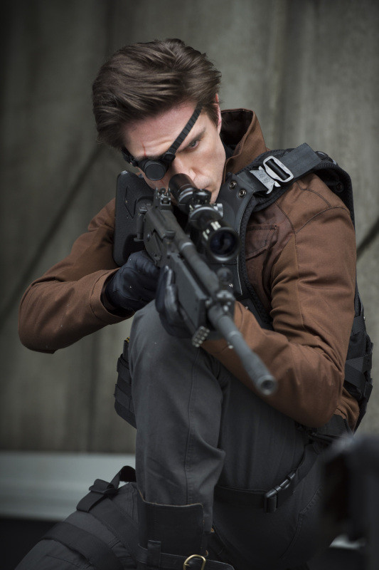 "Michael Rowe as Floyd ""Deadshot"" Lawton"