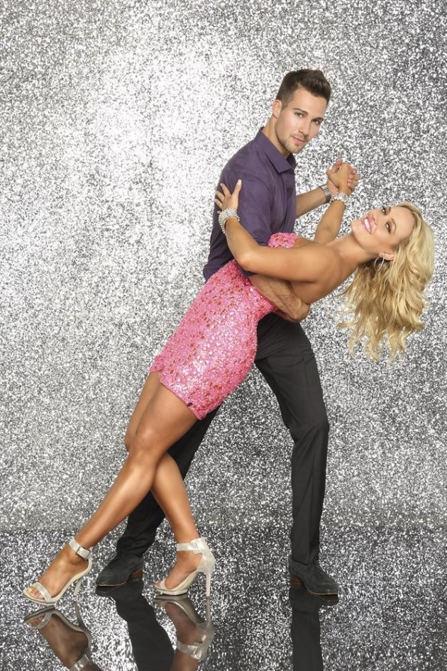 James Maslow and Peta Murgatroyd