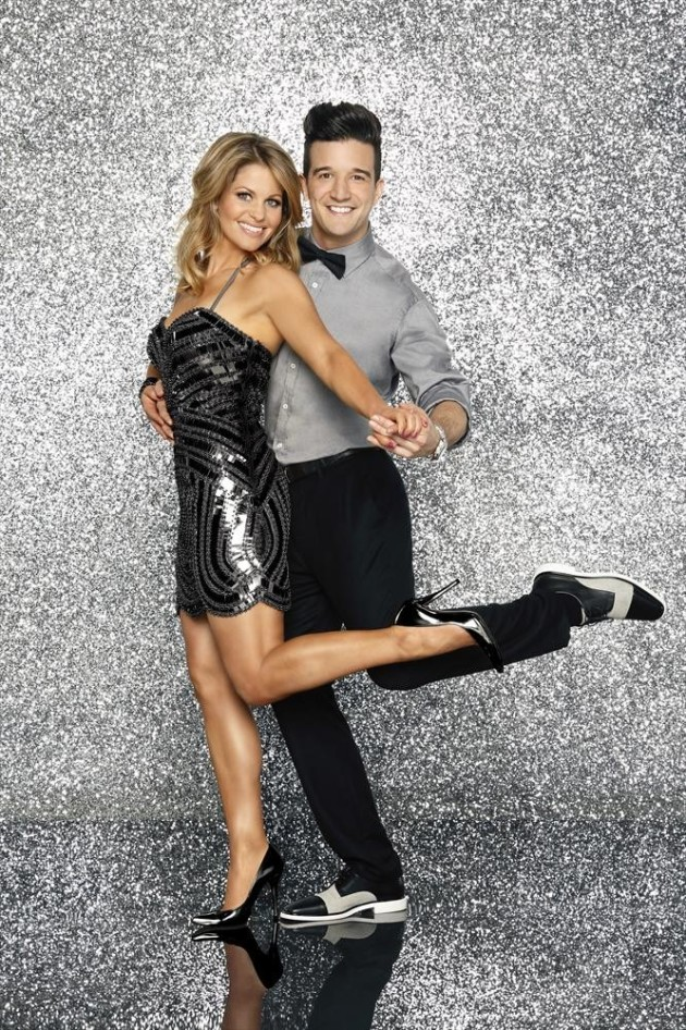 Candace Cameron Burke and Mark Ballas