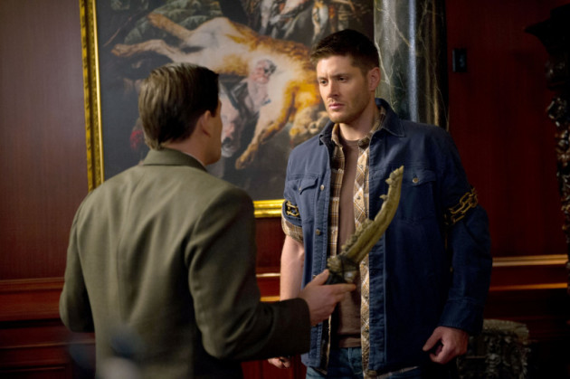Dean and Magnus with The First Blade