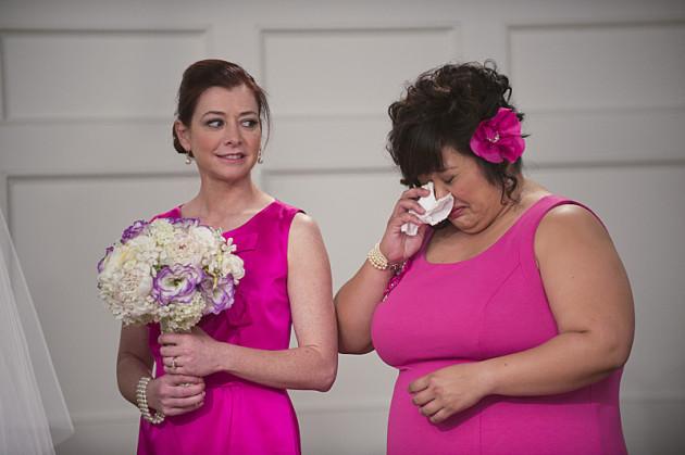 Wedding Tears Flow