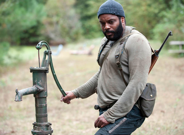 Tyreese on The Walking Dead
