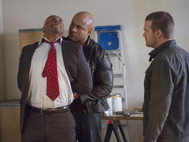 Sam Apprehends an Agent