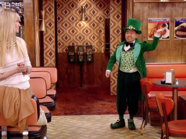 St. Patrick's Day on 2 Broke Girls