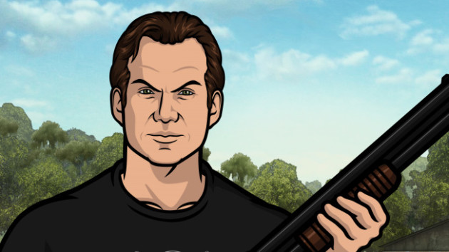 Christian Slater on Archer