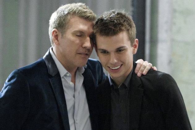 Todd Chrisley Son Todd and his son