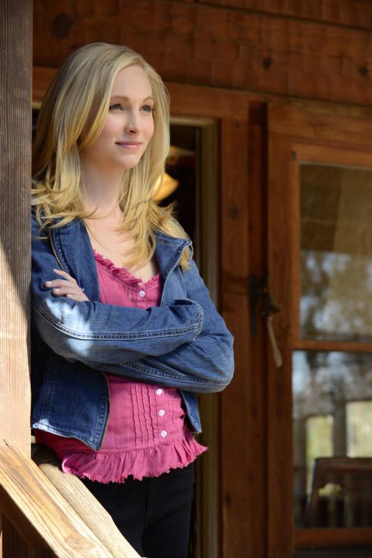 Caroline at the Cabin