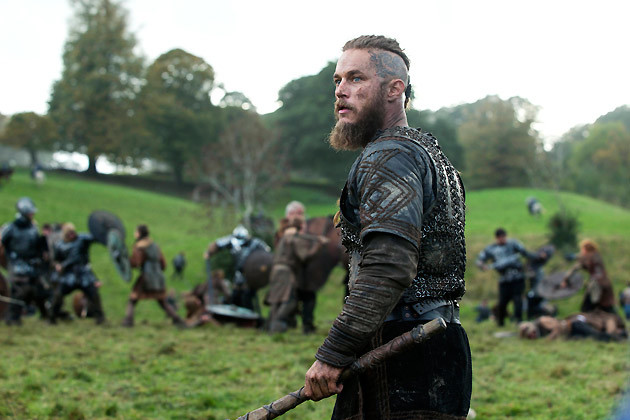 Ragnar Lothbrok mid battle