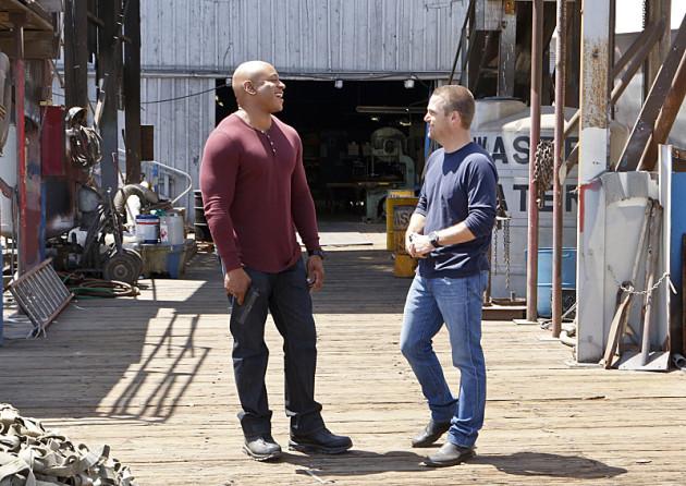 Sam and Callen