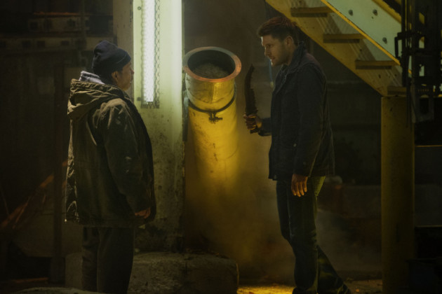 Dean Waves the First Blade at Metatron