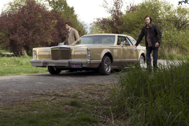 Castiel and Sam are Teamed Up