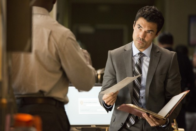 Ian Anthony Dale as Lieutenant Jim Koto