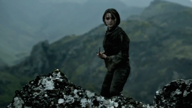 Arya on the Finale