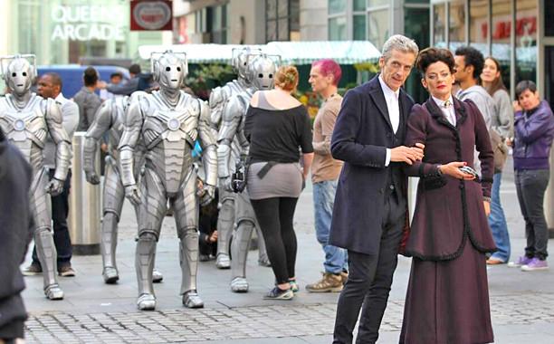 Doctor Who Set Photo