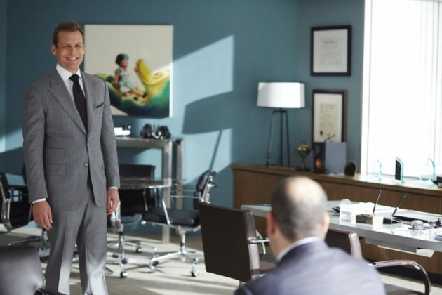 Happy Harvey - Suits Season 4 Episode 8