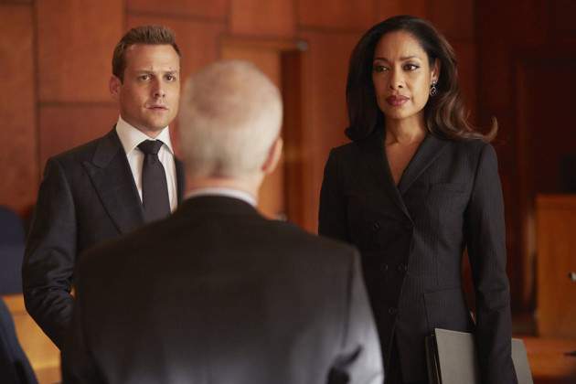 Harvey and Jessica and a Judge - Suits Season 4 Episode 9
