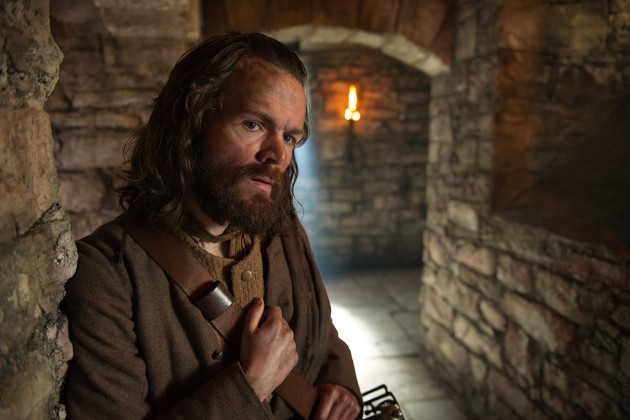 Stephen Walters as Angus Mhor - Outlander Season 1 Episode 3