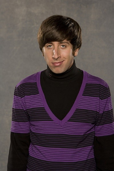 Simon Helberg as Howard Wolowitz - The Big Bang Theory