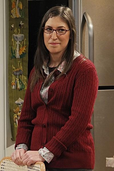 Mayim Bialik as Amy Farrah Fowler  - The Big Bang Theory