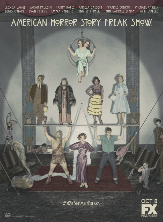 American Horror Story Freak Show Cast Photo