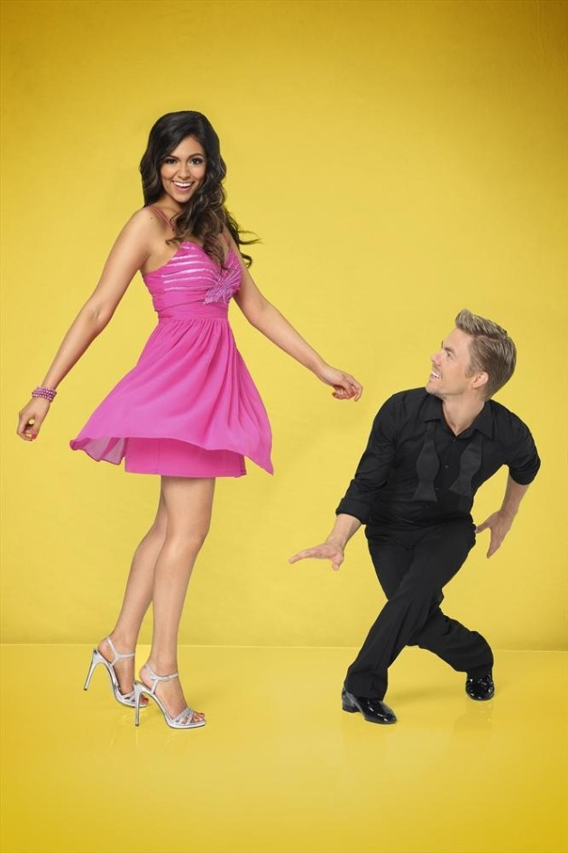Bethany Mota and Derek Hough - Dancing With the Stars