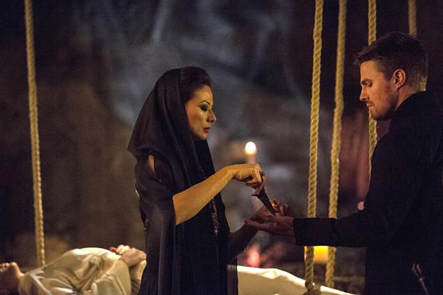 Lighting Up Arrow Season 3 Episode 20 TV Fanatic