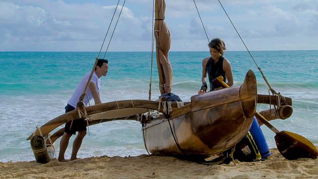 Kono and Chin on the Beach - Hawaii Five-0