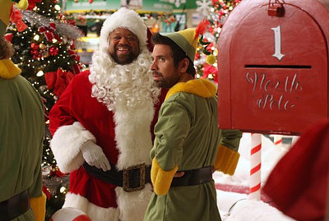 Santa and the elf