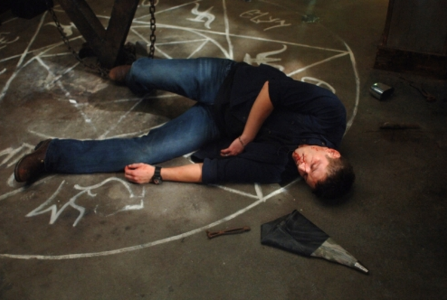 Dean on the ground