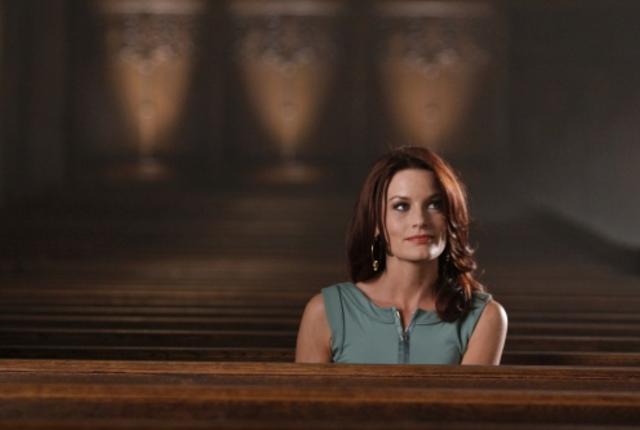 In a church