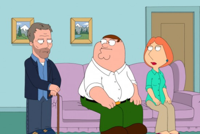 Dr house on family guy